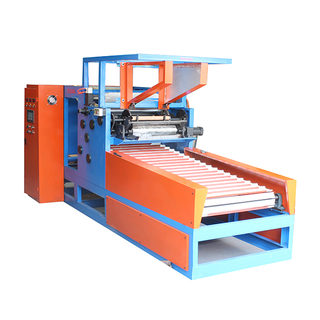 Aluminum Foil Cutting And Rewinding Machine (Four Shafts)