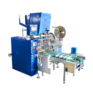 Fully-Auto Aluminum Foil Cutting And Rewinding Machine With Lable System (Four Shafts)